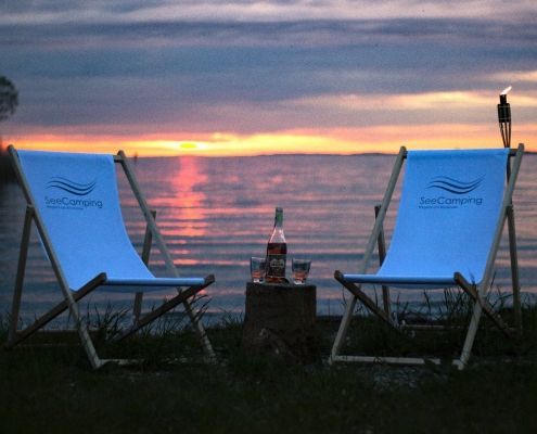 SeeCamping/See/Sonnenuntergang